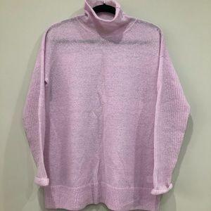 J Crew wool blend turtleneck sweater